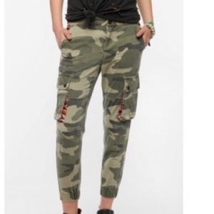 Camo cargo jogger jeans from Urban Outfitters
